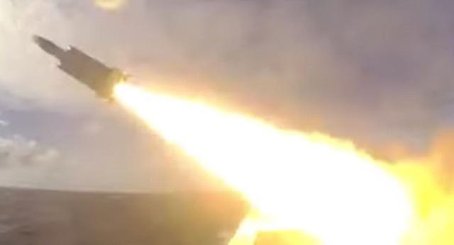 Tên lửa Hùng Phong 3 của Đài Loan. (Ảnh: Sputnik)