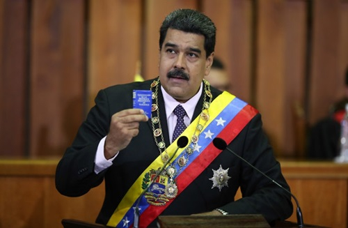 Tổng thốngVenezuela Nicholas Maduro. (Ảnh:AVN).