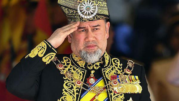 Cựu vương Muhammad V.