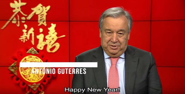 Tổng thư ký Liên Hợp Quốc Antonio Guterres chúc mừng năm mới âm lịch
