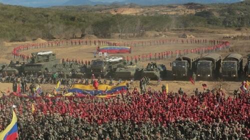 Đây dự kiến sẽ là cuộc tập trận quy mô lớn nhất và quan trọng nhất trong lịch sử 200 năm của Venezuela. Cuộc tập trận bắt đầu từ ngày 10/2 và kéo dài đến ngày 15/2.