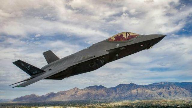Máy bay chiến đấu F-35 (Ảnh minh họa: Quân đội Mỹ)