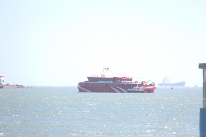 Tàu cao tốc Vũng Tàu - Côn Đảo gặp sự cố sáng 21/2 khiến hàng trăm hành khách phải hủy chuyến