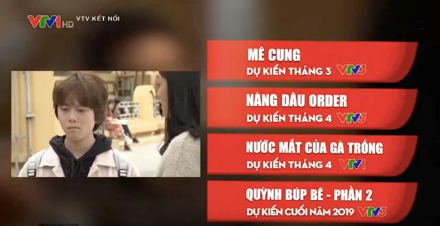 VTV Kết nối giới thiệu Quỳnh búp bê dự kiến lên sóng cuối năm 2019.