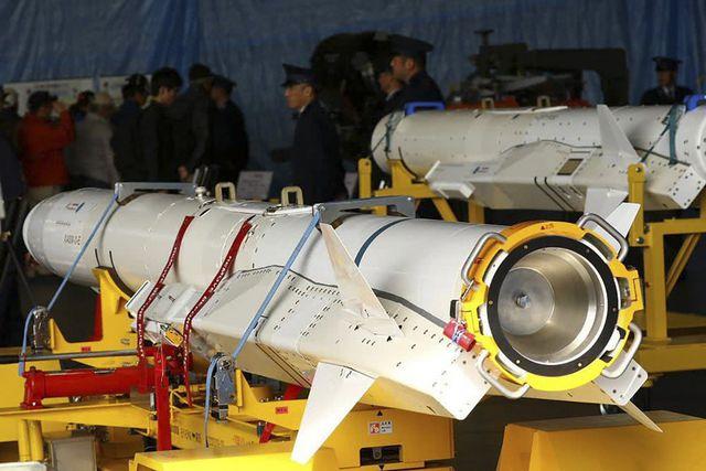 Tên lửa XASM-3 của Nhật Bản (Ảnh: HWAK26)