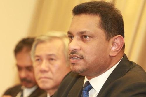 Tân chủ tịch Hội Luật sư Malaysia Abdul Fareed Abdul Gafoor. Ảnh:Star.