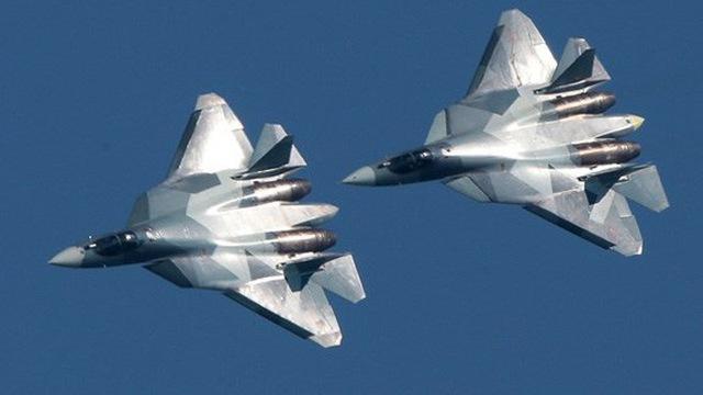 Máy bay chiến đấu thế hệ 5 Su-57 của Nga.