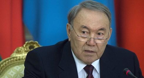 Tổng thống Kazakhstan Nursultan Nazarbayev.