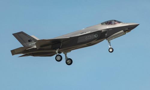 Tiêm kích F-35A Thổ Nhĩ Kỳ bay thử tại Mỹ năm 2018. Ảnh:Lockheed Martin.