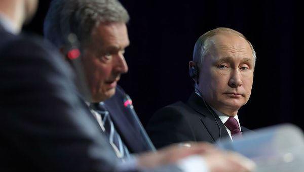 Tổng thống Putin đã tham dựhội đàm với Thủ tướng Thụy Điển.