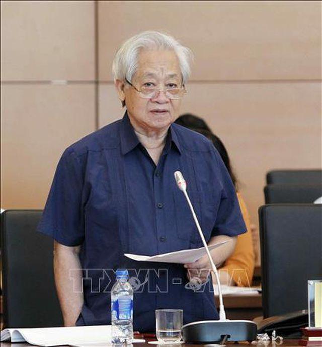 GS.TS Phạm Tất Dong, Phó Chủ tịch Hội Khuyến học Việt Nam (Ảnh: Văn Điệp - TTXVN)