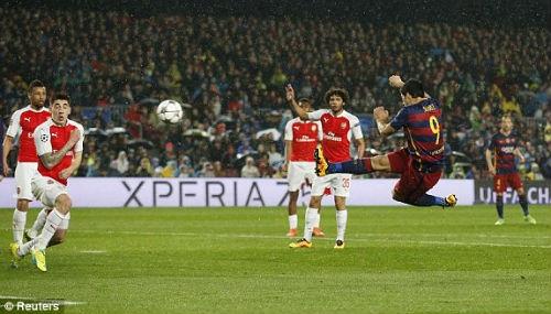 Barca không choArsenalcơ hội