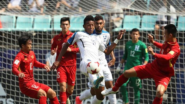 U20 Việt Nam đã có những cơ hội ở hiệp 1.
