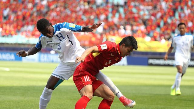 Đinh Thanh Bình là điểm đến trong các đợt tấn công của U20 Việt Nam.