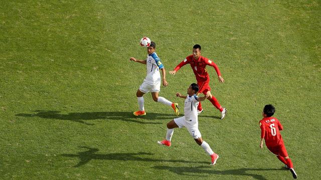 U20 Việt Nam đã chơi hết mình.