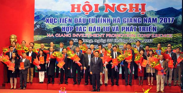 Hội nghị xúc tiến đầu tư bàn tỉnh Hà Giang