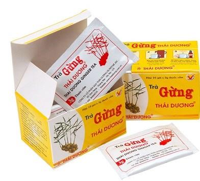 Uống trà gừng Thái Dương thường xuyên để ngăn ngừa bệnh tật.