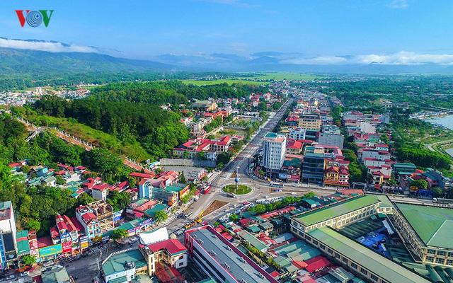 Trung tâmthành phố Điện Biên Phủ.
