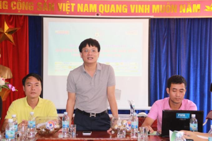 Ông Hồ Minh Chiến, Tổng biên tập báo Gia đình Việt Nam, Trưởng Ban tổ chức giải phát biểu