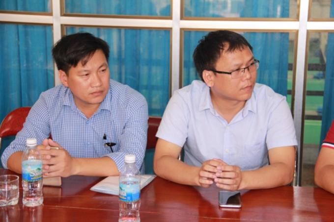 Đại diện đội chủ nhà Liên quân báo chí Nghệ An
