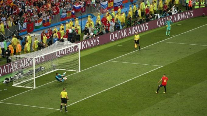 Tây Ban Nha vs Nga: Akinfeev người hùng của nước Nga
