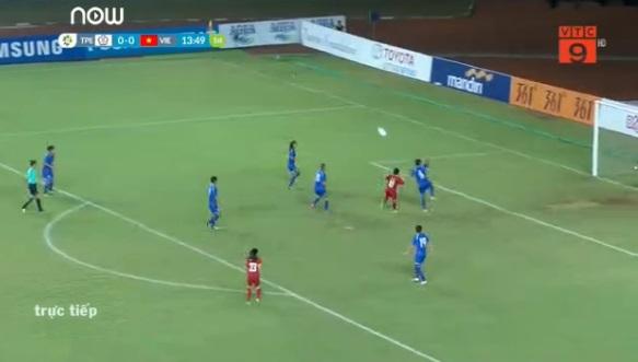 Đội tuyển bóng đá nữ Việt Nam vs Đài Loan.