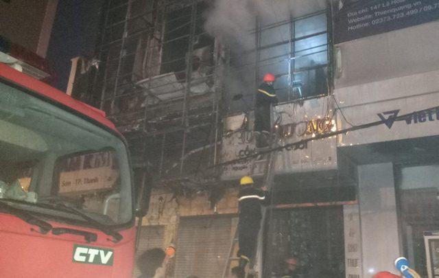 Hiện trường vụ cháy 3 ngôi nhà ở Thanh Hóa sau tiếng nổ lớn