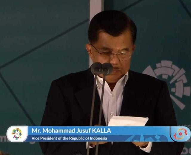 Phó tổng thống Indonesia - ông Mohammad Jusuf Kalla