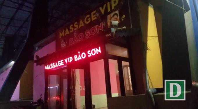 Cơ sở kinh doanh massge bị báo chí phản ánh trong thời gian vừa qua.