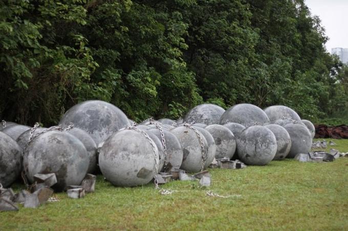 Di dời 40 hòn đá tròn ở SVĐ Mỹ Đình để đảm bảo an ninh chứ không phải là phong thủy