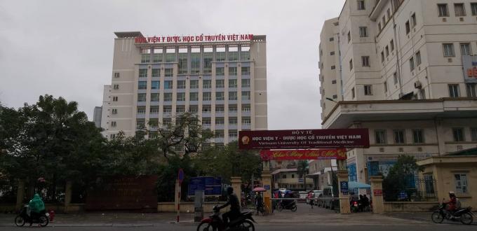 Học viện Y học cổ truyền Việt Nam.