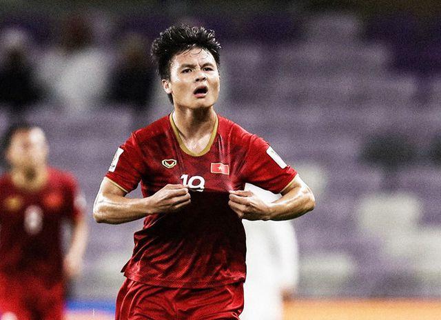 Quang Hải là gương mặt nổi bật của đội tuyển Việt Nam ở vòng bảng