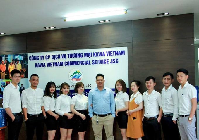 Công ty cổ phần dịch vụ thương mại kawa Việt Nam -289A khuất duy tiến, thanh xuân, Hà Nội.