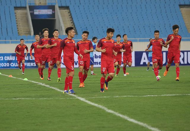 U23 Việt Nam luyện miếng đánh trước thềm vòng loại U23 châu Á