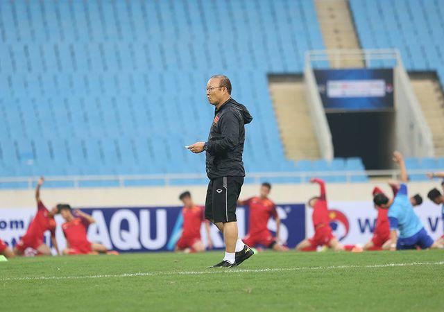 HLV Park Hang Seo tự tin trước thực lực của đội nhà