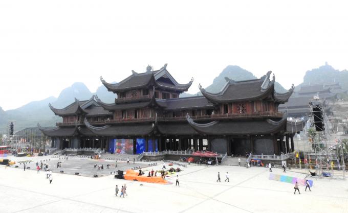 Chùa Tam Chúc nơi sẽ diễn ra nhiều hoạt động trong khuôn khổ Đại lễ Phật đản Vesak 2019.