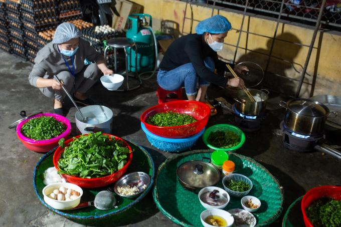 Mọi thứ luôn sẵn sàng, quy trình nấu nướng, chế biến thực phẩm đều phải đảm bảo an toàn.