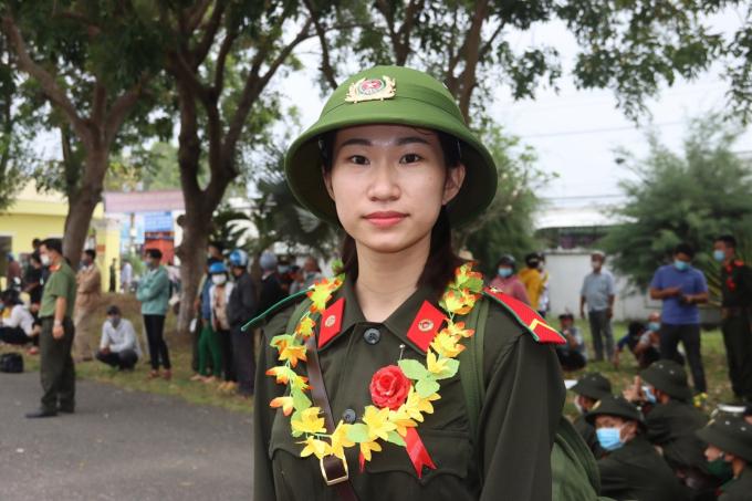 Nữ tân binh Nguyễn Thị Tuyết Kha