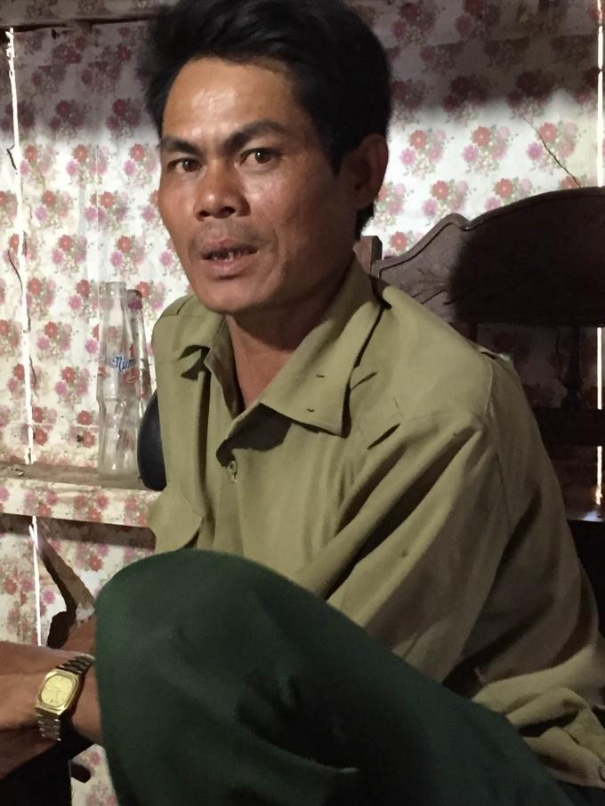 Anh Y Ne Hmok (46 tuổi) cho biết gia đình đã bị mất 8 con trâu, cả buôn Jang Lành nơi anh sinh sống đã mất 14 con