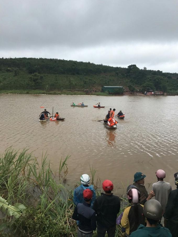 Hồ nơi Tình bị đuối nước thương tâm.