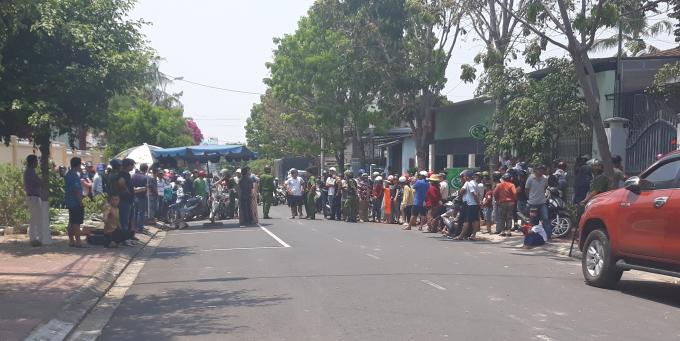 Quán bi-a Hải Sơn trên đường Lê Qúy Đôn, TP Kon Tum hiện trường vụ án mạng.