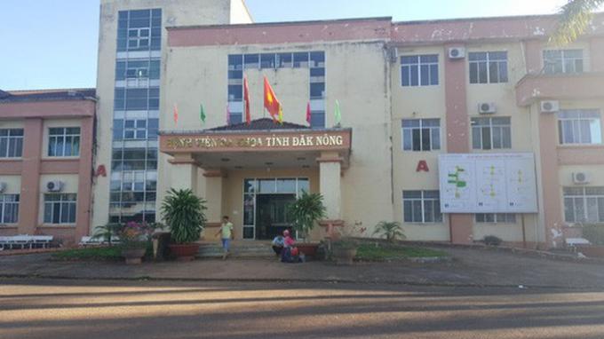 Công an Đắk Nông khởi tố bị can đối với nguyên Giám đốc Bệnh viện đa khoa tỉnh.