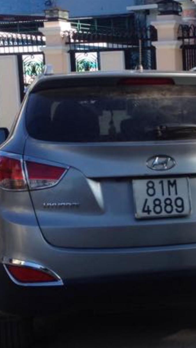 Chiếc xe của bà Hồng bịđối tượng Hà chiếm giữ trái phép