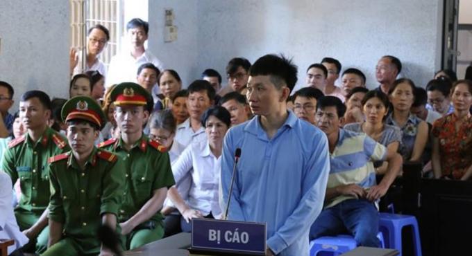 Bị cáo Chu Ngọc Hải nhận mức án tử hình