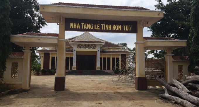 Nhà tang lễ tỉnh Kon Tum với kinh phí hơn 12 tỉ nằm