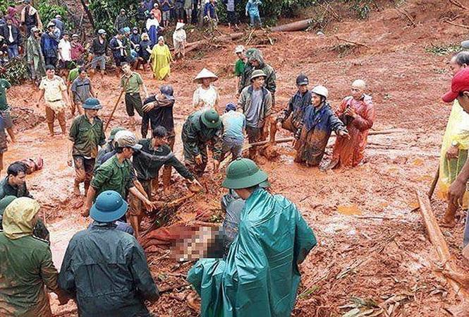 3 người tử vong do sạt lở đất ở Đắk Nông.