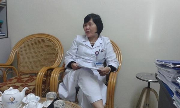 Bà Nguyễn Thị Xuân Loan, Trưởng phòng Kế hoạch Tổng hợp - Bệnh viện Giao thông vận tải.