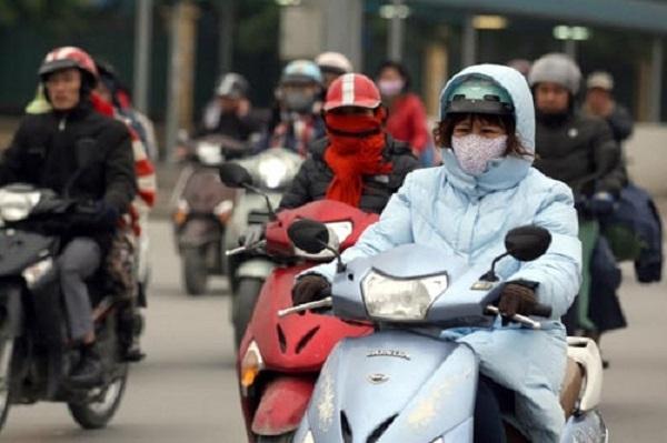Không khí lạnh tăng cường sẽ tiếp tục ảnh hưởng đến các tỉnh Bắc Bộ.