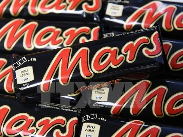 Sản phẩm Socola của Mars bị thu hồi vì nghi có thể chứa các mẩu chất dẻo. Ảnh: Internet