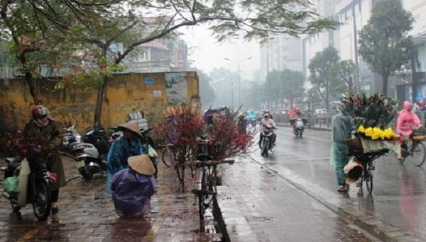 Bắc Bộ tiếp tục có mưa nhỏ rải rác, trời rét. Ảnh: minh họa